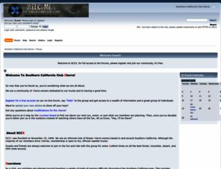 sccxterra.com screenshot
