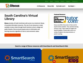 scdiscus.org screenshot