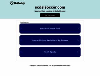 scdslsoccer.com screenshot