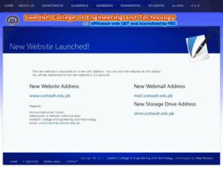 sceat.edu.pk screenshot