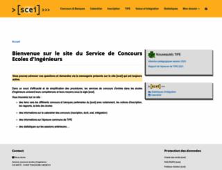 scei-concours.fr screenshot