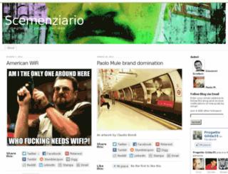 scemenziario.wordpress.com screenshot
