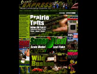 sceneryexpress.com screenshot