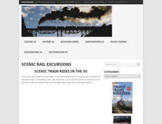 scenicrailexcursions.com screenshot