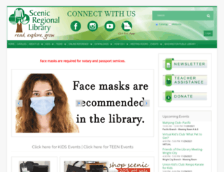 scenicregional.org screenshot