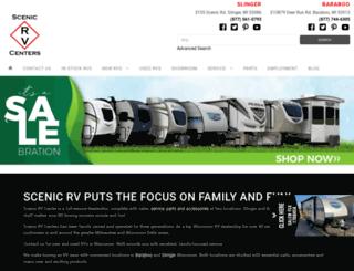 scenicrv.com screenshot