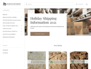 scents-of-earth.com screenshot