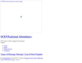 scentsational-abundance.com screenshot
