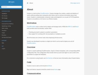 sceptre.cloudreach.com screenshot