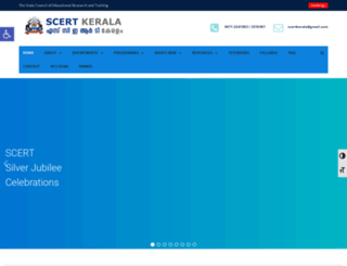 scert.kerala.gov.in screenshot