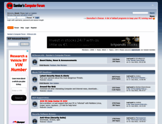 scforum.info screenshot