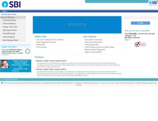 scfu.onlinesbi.com screenshot
