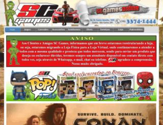 scgamesonline.com.br screenshot