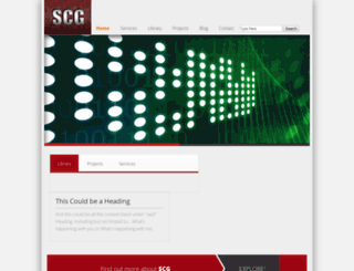 scgwerks.com screenshot