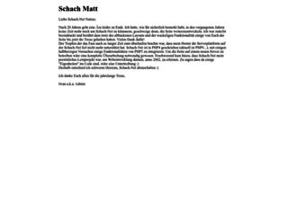 schach-net.de screenshot