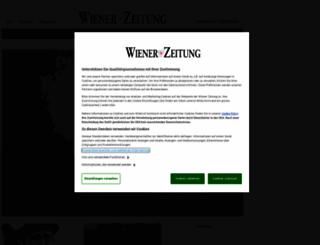 schach.wienerzeitung.at screenshot
