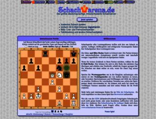 schacharena.de screenshot