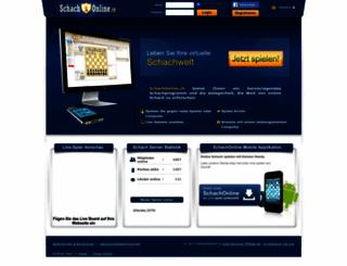 schachonline.ch screenshot