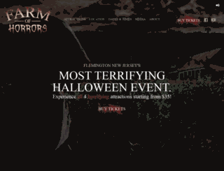 schaefersfrightfest.com screenshot