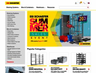 schaefershelving.com screenshot