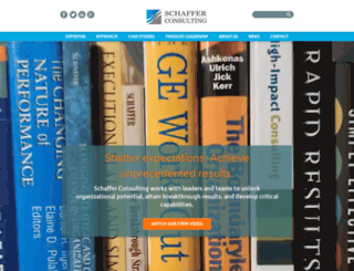 schafferresults.com screenshot