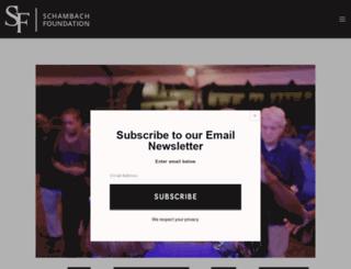 schambach.org screenshot