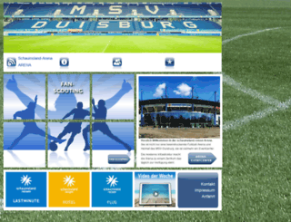 schauinsland-arena.de screenshot