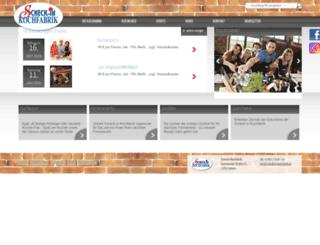 scheck-in-kochfabrik.de screenshot