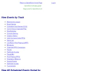 schedule.gamestorm.org screenshot
