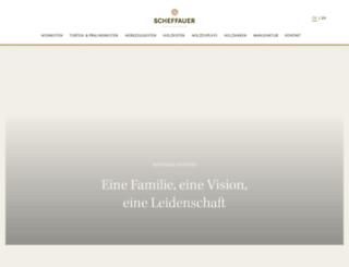 scheffauer-holzwaren.com screenshot