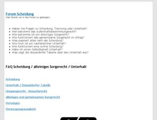 scheidungsforum.de screenshot
