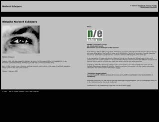 schepers.info screenshot