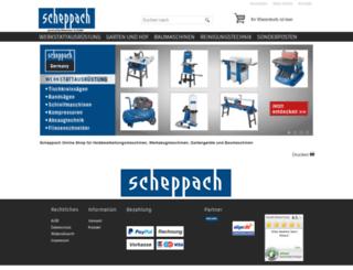 scheppach-holzmaster24.de screenshot