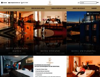 schick-hotels.com screenshot