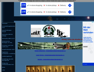 schiessportksvwr.homepage.eu screenshot