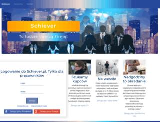 schiever.pl screenshot