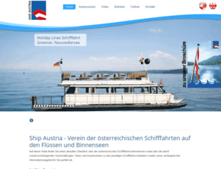 schifffahrt.at screenshot
