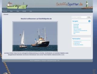 schiffsspotter.de screenshot