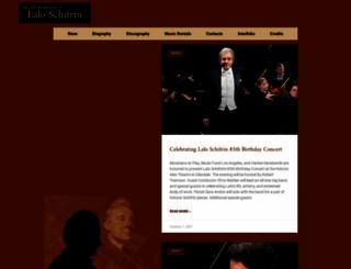 schifrin.com screenshot