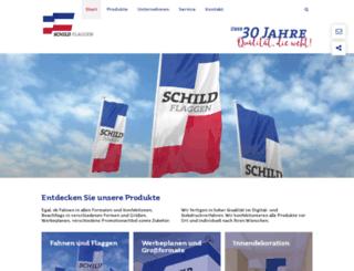 schild-flaggen.de screenshot