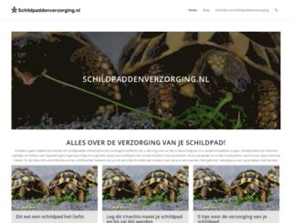 schildpaddenverzorging.nl screenshot
