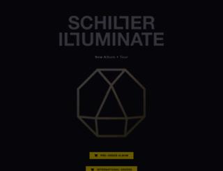 schillermusik.de screenshot