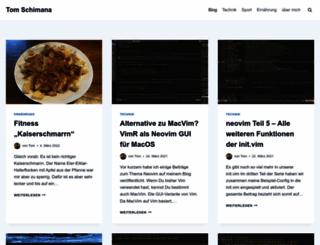 schimana.net screenshot