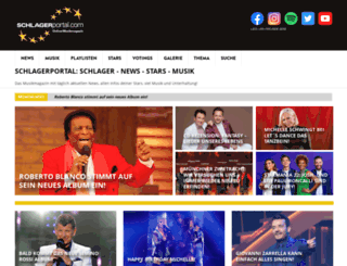 schlagerportal.com screenshot