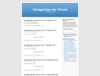 schlagertipp.podspot.de screenshot