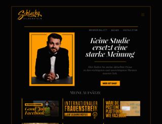 schleckysilberstein.com screenshot