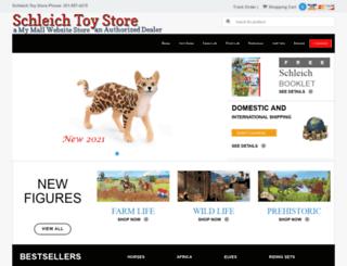 schleichtoystore.com screenshot