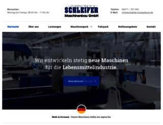 schleifer-cloppenburg.de screenshot