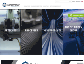 schlemmer.com screenshot