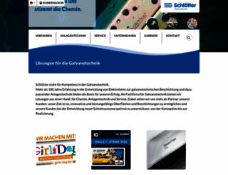 schloetter.com screenshot